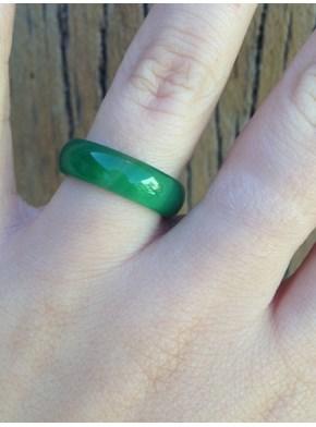Anel Pedra Quartzo Verde