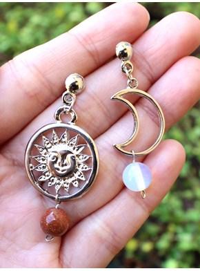 Brinco Astral Sol e Lua