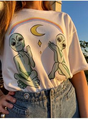 Camiseta Alien Good Vibes