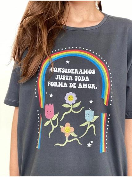 Camiseta Amor - Pride