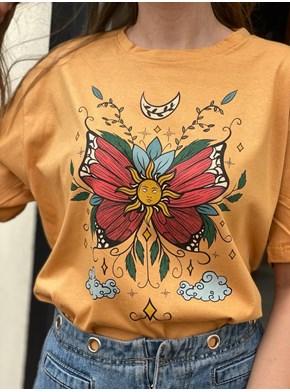 Camiseta Borboleta Solar