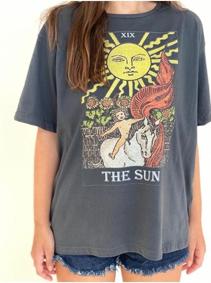 Camiseta Carta tarot - O sol