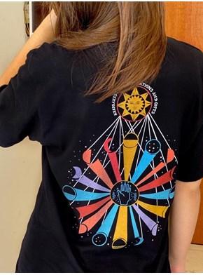 Camiseta Circo Voador - Frente e Verso