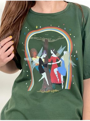 Camiseta Encanto das Fadas