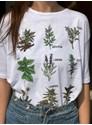 Camiseta Ervas de Bruxa - Branca