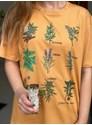 Camiseta Ervas de Bruxa - Caramelo