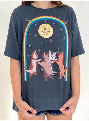 Camiseta Gatos fest