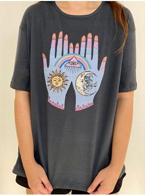 Camiseta Hamsa - Proteção