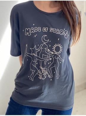 Camiseta Made Of Stars