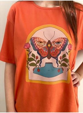 Camiseta Menina Mariposa