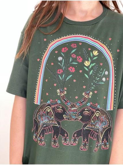 Camiseta Prosperidade - Verde