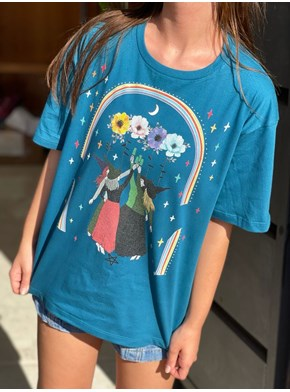 Camiseta Raiz Feminina Bruxas Fest