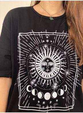 Camiseta Solar - Preta