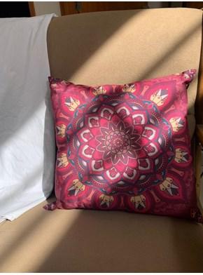 Capa de Almofada - Mandala Pink