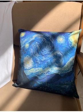 Capa de Almofada Van Gogh - A Noite Estrelada
