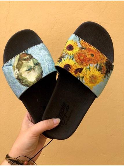 Chinelo Slide Van Gogh - Par Ímpar 41/42