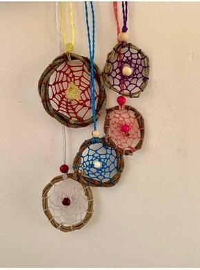 Colar Amuleto Filtro dos Sonhos
