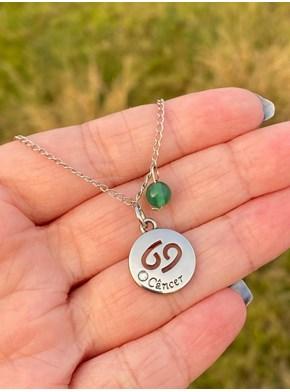 Colar Amuletos Cristais Signos - Escolha o Seu