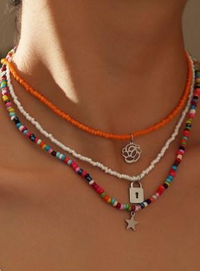 Colar Amuletos de Miçanga - Escolha o seu!