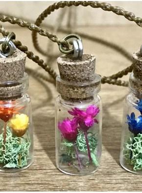 Colar Domo Flores