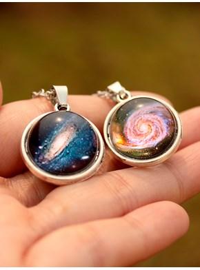 Colar Galáxia 3D