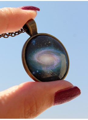 Colar Galáxia Eyes - Bronze