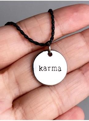 Colar Karma - Prata