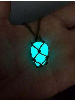 Colar Pedra Encantada - Brilha no Escuro