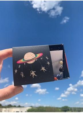 Colar Sistema Solar - com embalagem