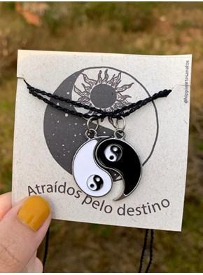 Conjunto Colares Yin Yang - Atraídos pelo destino