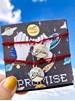 Conjunto com 2 Pulseiras ou 2 Colares Akai Ito - Promessa