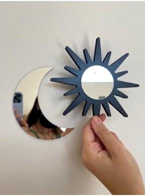 Conjunto com Espelhos Sol e Lua