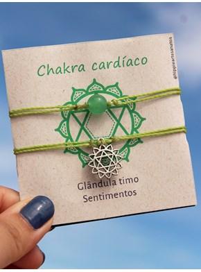 Conjunto de Pulseiras Chakras - Escolha a cor