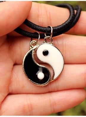Conjunto Melhores Amigos - Colares Yin Yang