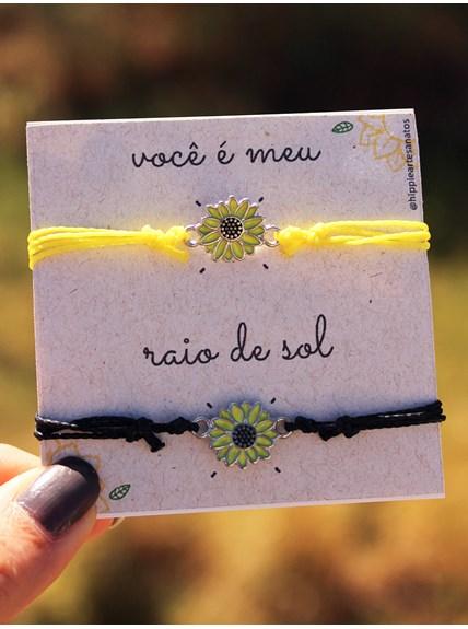 """Conjunto """"Você é Meu Raio de Sol"""" - Girassol"""