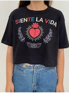 Cropped Comfy Coração do México