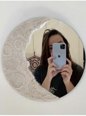 Espelho Lua - Artesanal