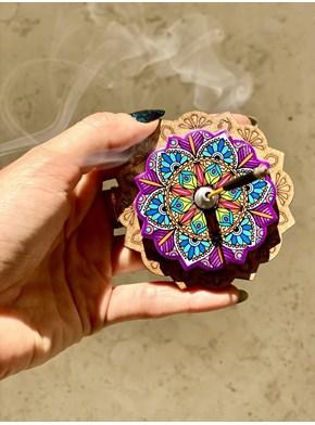 Incensário Mandala