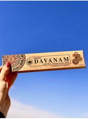 Incenso Goloka Natural Davanam