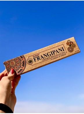 Incenso Goloka Natural Frangipani