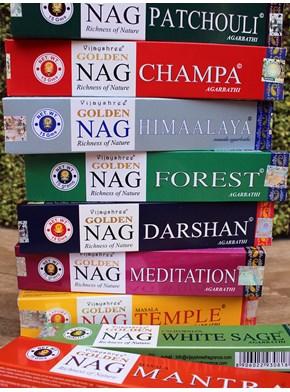 Incenso Vijayshree - Escolha o aroma
