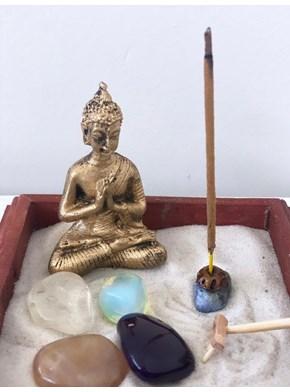 Jardim Zen Buda Namaste