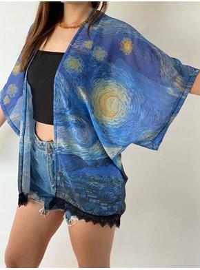 Kimono ¨A Noite Estrelada¨