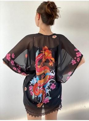 Kimono Dragão da Coragem