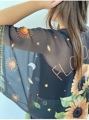 Kimono Flor do Sol