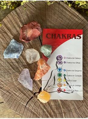 Kit Pedras Chakras
