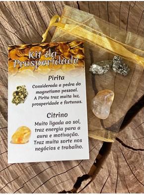 Kit Prosperidade - Pirita e Citrino