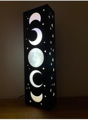 Luminária Torre Fases da Lua