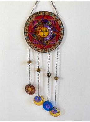 Mandala Vitral Alegria do Sol