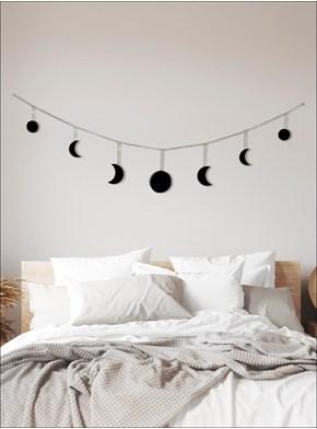 Móbile Cortina Fases da Lua